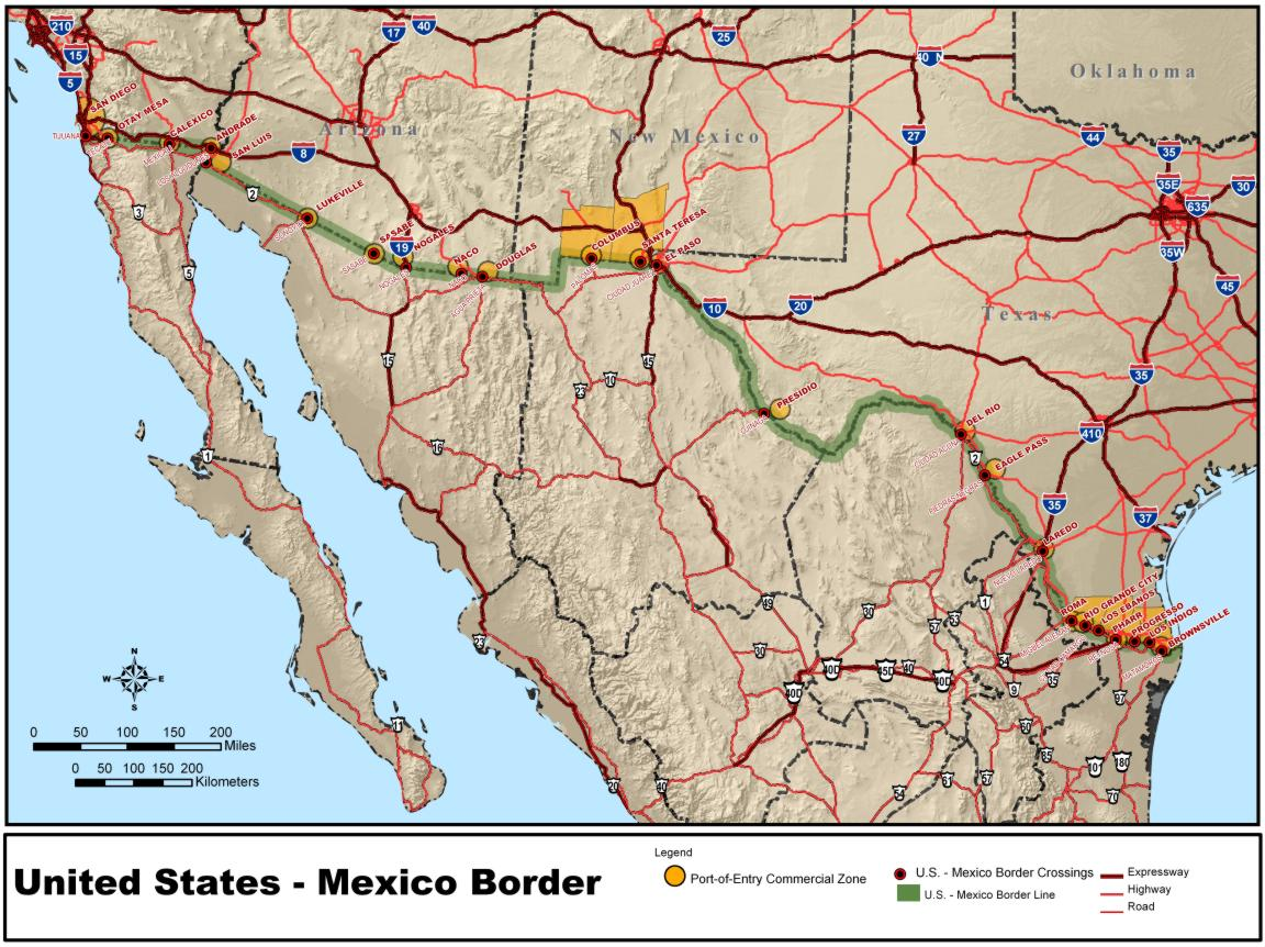 an introduction to the militarization of the us mexico border Us-mexico border enforcement: has it been effective  to move back and forth across the border—across the entire united states  border militarization .